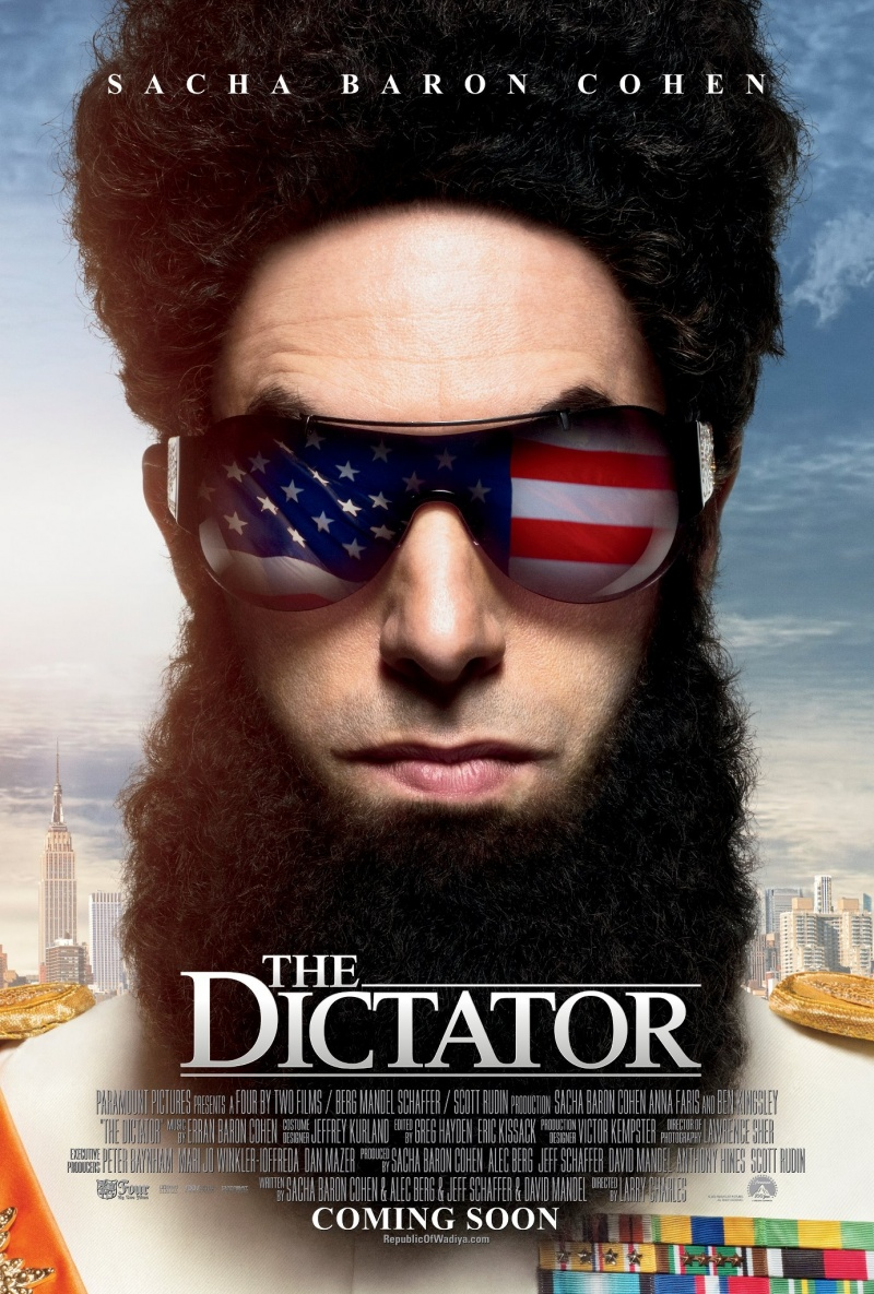 дата выхода фильма Диктатор 2012