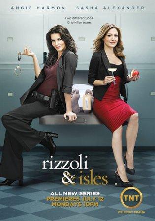 Дата выхода сериала Риццоли и Айлс 3 сезон 1,2,3,4,5,6,7,8 ,9 ,10 серия