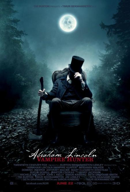Авраам Линкольн: Охотник на вампиров дата выхода